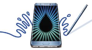 Robbanékonyak a Galaxy Note 7 modellek