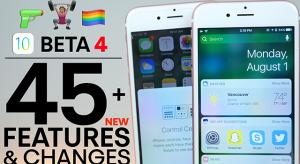 Ezek az iOS 10 beta 4 új funkciói