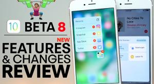 Ezek az iOS 10 beta 8 újdonságai