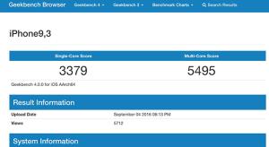 Kiszivárgott az iPhone 7-ben debütáló A10-es chip teljesítménye