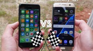 Megérkeztek az iPhone 7 sebesség-összehasonlító videók