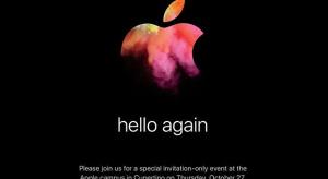 """Hivatalos: jövő hét csütörtökön lesz a """"hello again"""" Mac event"""