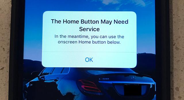 Az iOS 10 jelzi, ha elromlik az iPhone 7 Home gombja