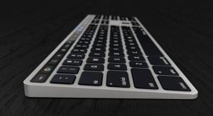 Akár ilyen lehetne a Touch Bar-ral szerelt Magic Keyboard