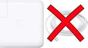 USB C kábel nélkül árulja az új MacBook Pro töltőjét az Apple