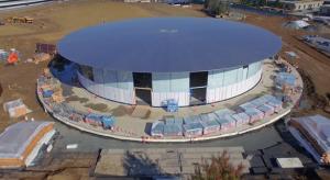 Újabb drónfelvétel érkezett a Campus 2-ről