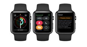 Mozi móddal érkezett az első watchOS 3.2 béta
