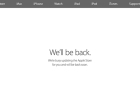 Öt órára leáll az online Apple Store