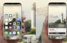 Kevésbé lesz hajlított az iPhone 8 kijelzője, mint a Galaxy S7-é