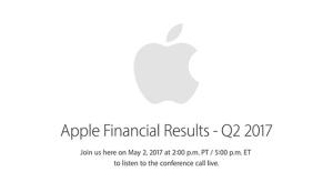 Május 2-án tartja a 2017 Q2-es pénzügyi konferenciáját az Apple