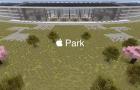 Így fest az Apple Park a Minecraft világában