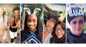 Snapchatből ismerős AR filterekkel frissült az Instagram