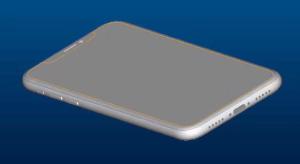 Újabb iPhone 8 tervrajzok kerültek elő