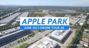 Így fest május végén az Apple Park