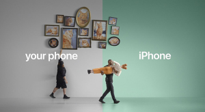 Az Android felhasználókat vette célba legújabb reklámjaiban az Apple