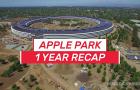 Ennyit változott az Apple Park az egy év leforgása alatt