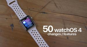 Íme a watchOS 4 első bétájának 50 újdonsága