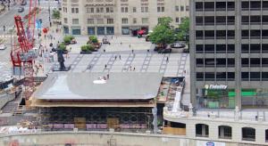 Úgy néz ki a chicagói Apple Store, mint egy hatalmas MacBook Air