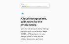 Mostantól 2 TB tárhely is elérhető iCloud-on