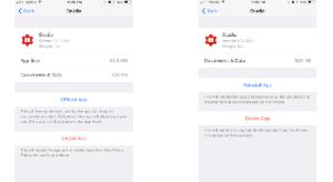 iOS 11-ben törölheted az alkalmazásaidat úgy, hogy közben megmaradnak a személyes adataid