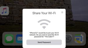 Újabb hasznos funkció az iOS 11-ben: WiFi megosztás