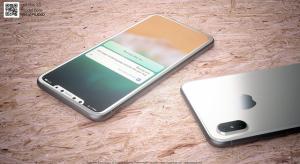 Gyönyörű fehér iPhone 8 koncepcióképek Marin Hajektől