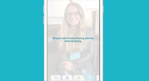 Remek iOS alkalmazással segít a vak és gyengén látó embereken a Microsoft