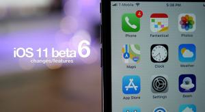 Íme az iOS 11 hatodik bétájának újdonságai