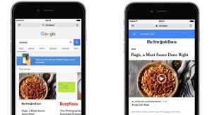 Az iOS 11 egy új funkciója bemutat a Google-nek
