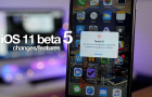 Ezek az iOS 11 ötödik bétájának újdonságai