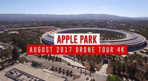 Így fest augusztus közepén az Apple Park