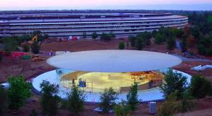 Így néz ki belülről a Steve Jobs előadóterem