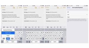 iOS 11: így állíthatod be az egykezes billentyűzetet