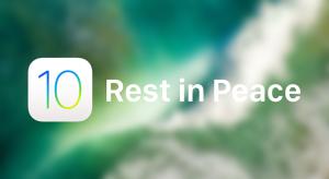 Megszüntette az iOS 10.3.3 hitelesítését az Apple