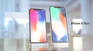 Ilyen lenne a jövőre érkező iPhone X Plus? (koncepcióképek)