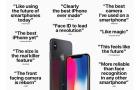 Furcsamód reklámozza az iPhone X nagyszerűségét az Apple