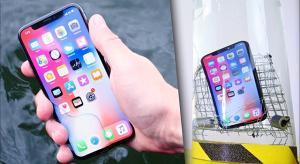 És hogy áll a vizes megmérettetésekkel az iPhone X?
