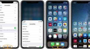 iPhone X alatt is előhozható a Reachability (elérhetőség) funkció