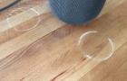 Zavaró fehér köröket hagy maga után fafelületeken a HomePod