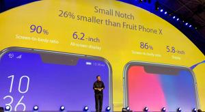 Olcsó iPhone X hasonmás telefont mutatott be az Asus