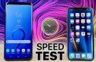 iPhone X vs Galaxy S9, avagy milyen sebességbeli különbségek tapasztalhatóak hétköznapi használat mellett?