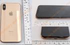 Képeken a kiszivárgott arany színű iPhone X