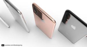 Koncepcióvideó a három kamerával szerelt iPhone X-ről