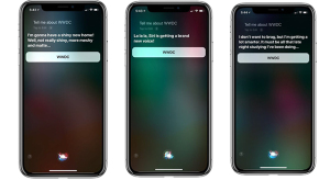 WWDC '18 újdonságairól spoilerez Siri?