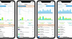 iOS 12: így ellenőrizheted az akkumulátorhasználat statisztikáit