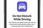 A ne zavarjanak vezetés közben funkció miatt perlik az Apple-t