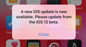 Új hibajelenségre lehetnek figyelmesek az iOS 12 béta felhasználói – itt a beta 12
