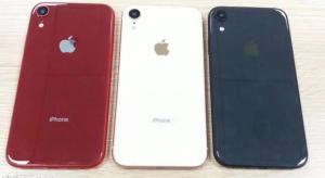 Ezek lesznek a 6,1 colos iPhone színei?