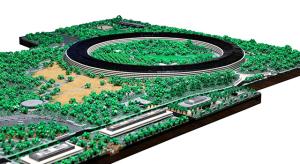 Bődületesen jól néz ki a 85 ezer LEGO-ból készült Apple Park