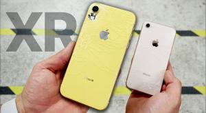 Egészen jól bírja az ejtési teszteket az iPhone Xr